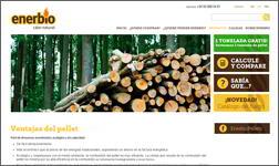 La agencia Ibidem Group colabora con Enerbio traduciendo a Italiano su web de pellets de madera