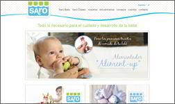 Ibidem traduce la web y los catálogos de Saro Baby a Italiano.